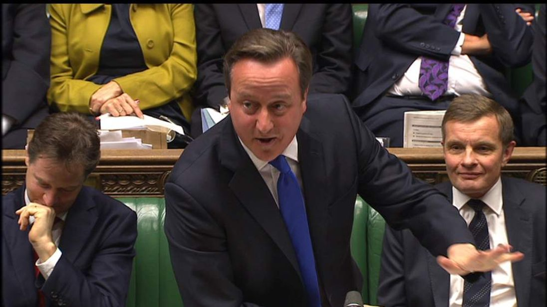 David Cameron congratulates Hull