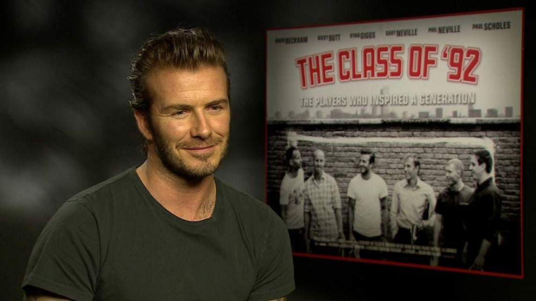 David Beckham Interview With Sky News