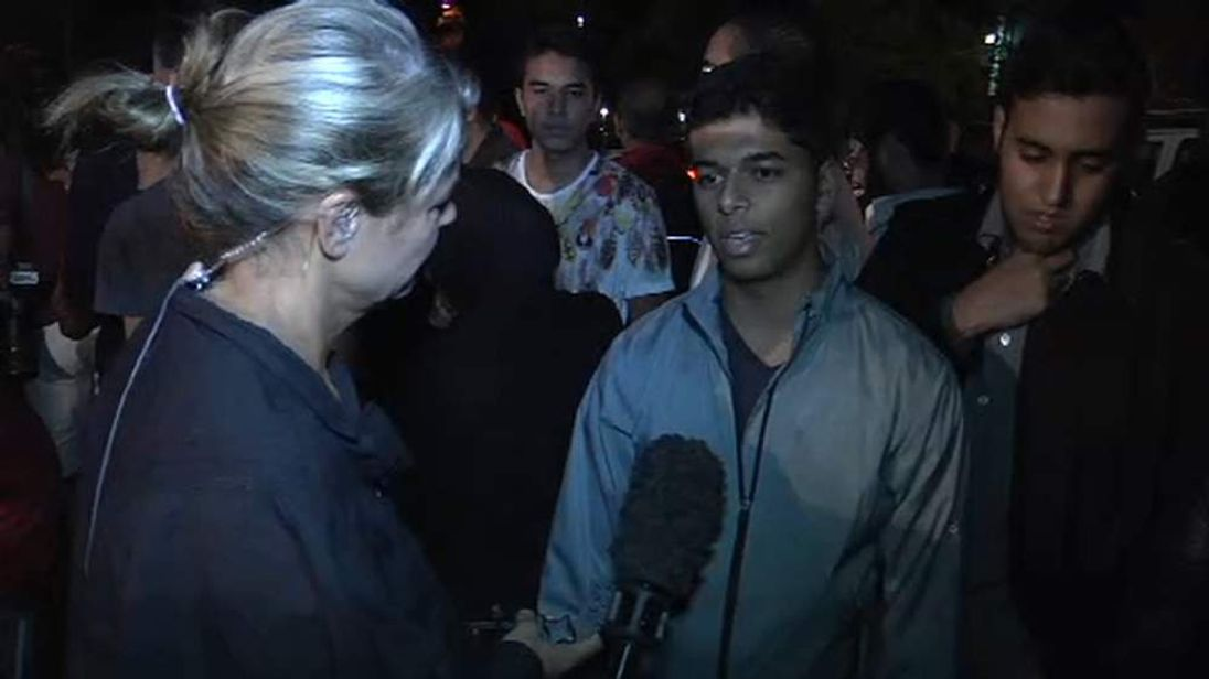 Young people react to Nelson Mandela's death