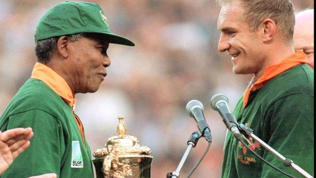 Francois Pienaar on his friendship with Mandela