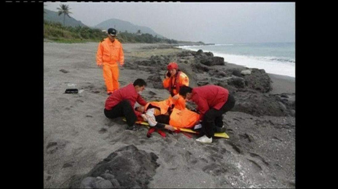 Taiwan sea survivor