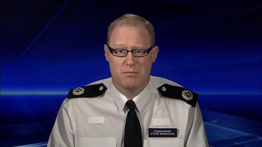 Metropolitan Police Commander Steve Rodhouse