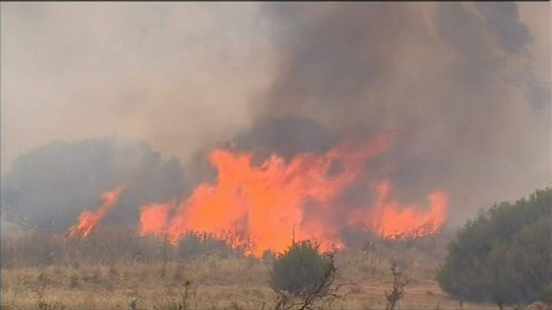 Wildfires in Australia kill one