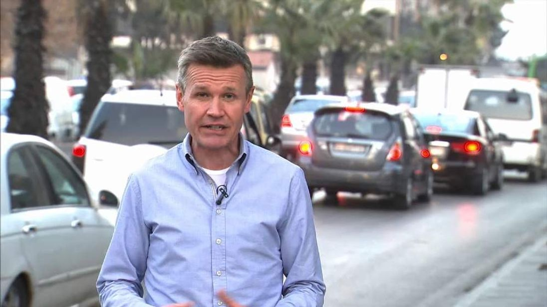 Robert Nisbet in Damascus, Syria