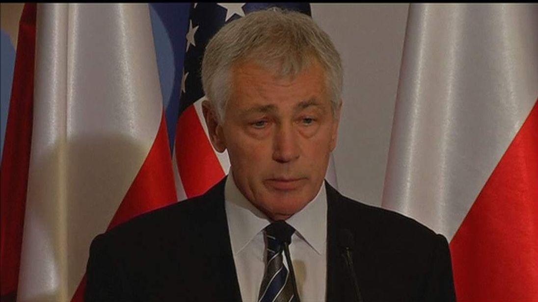 US Defence Secretary Chuck Hagel