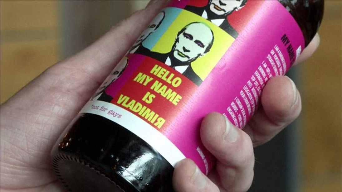 Scottish brewery makes Vladimir Beer