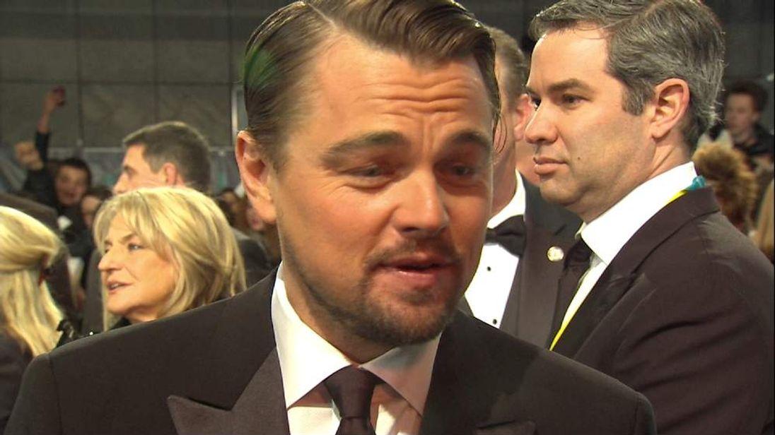 Leonardo DiCaprio Speaks To Sky News