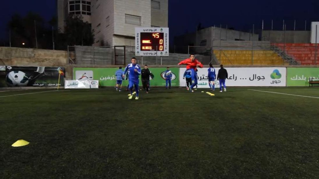 Palestinian football team