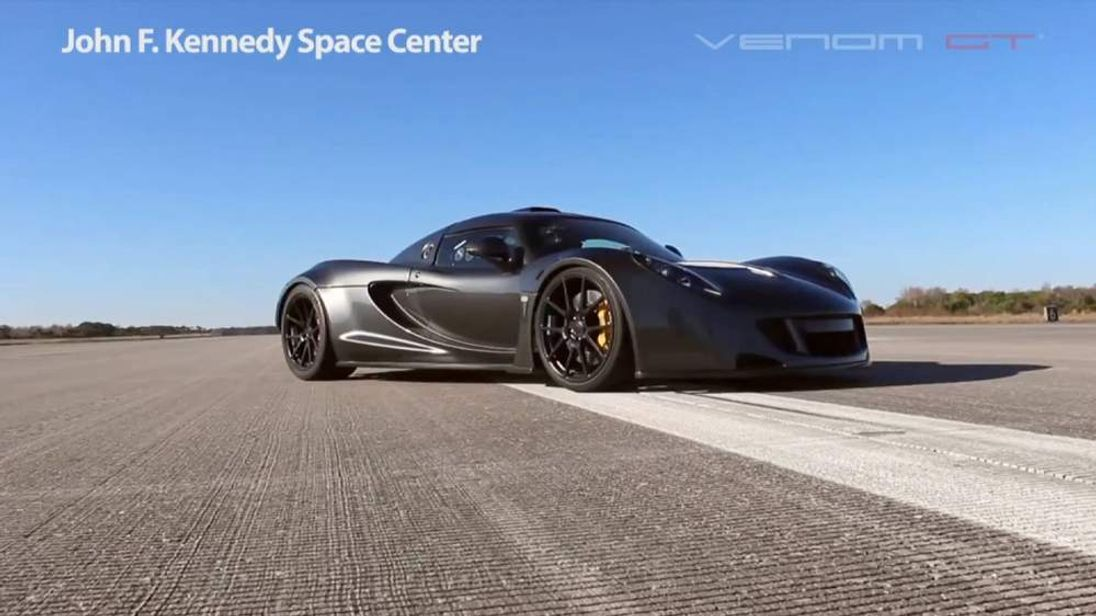 World's fastest two-seat production sports car