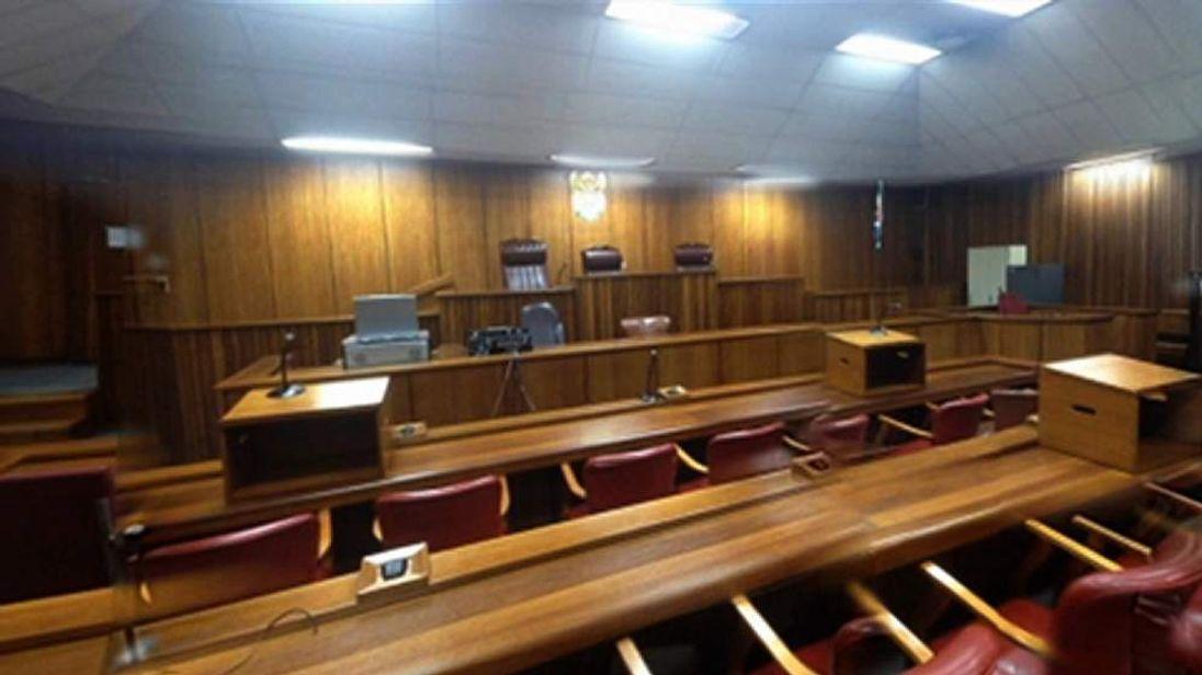 Pistorius court interior