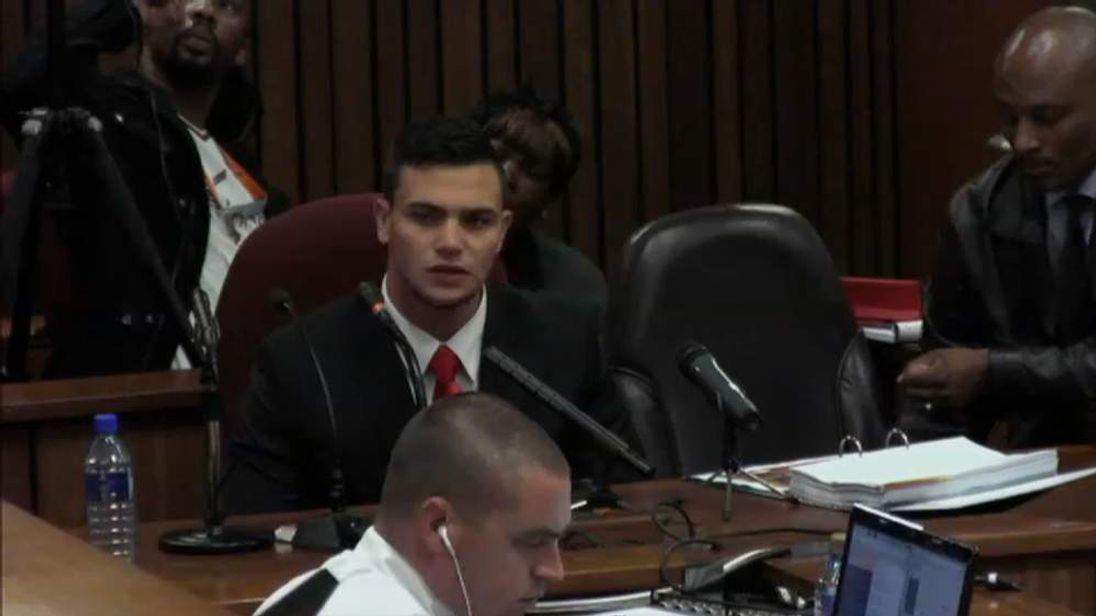 Keving Lerena gives evidence at the Oscar Pistorius trial
