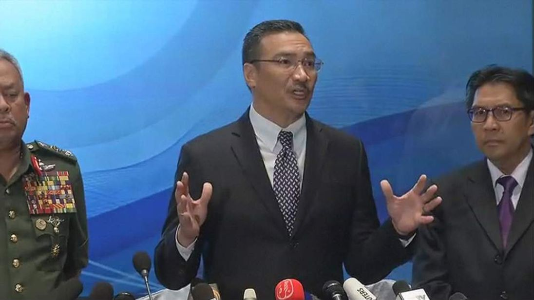 Press conference in Kuala Lumpur concerning the missing Malaysia Airlines flight