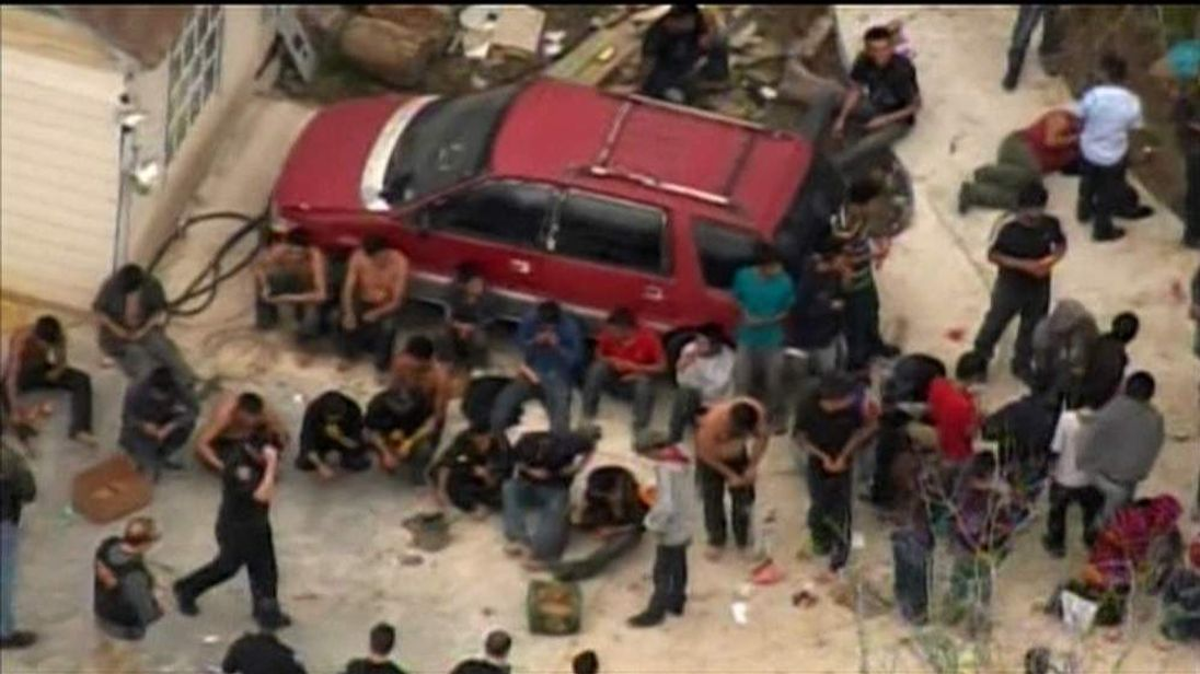 Houston Texas Immigrants Rescued From Stash House