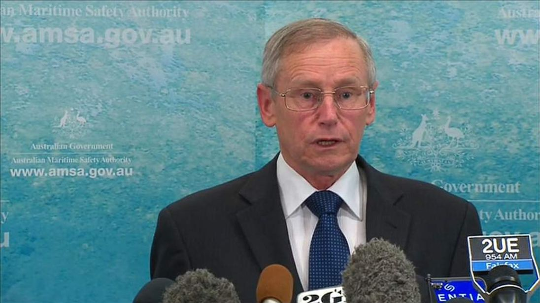 Missing MH370 Australian Maritime Safety Authority Spokesman