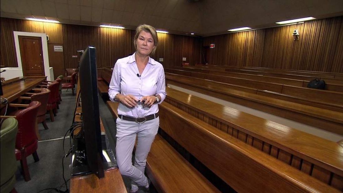 Sky's Special Correspondent Alex Crawford reports from the courtroom where Oscar Pistorius' trial is being heard.