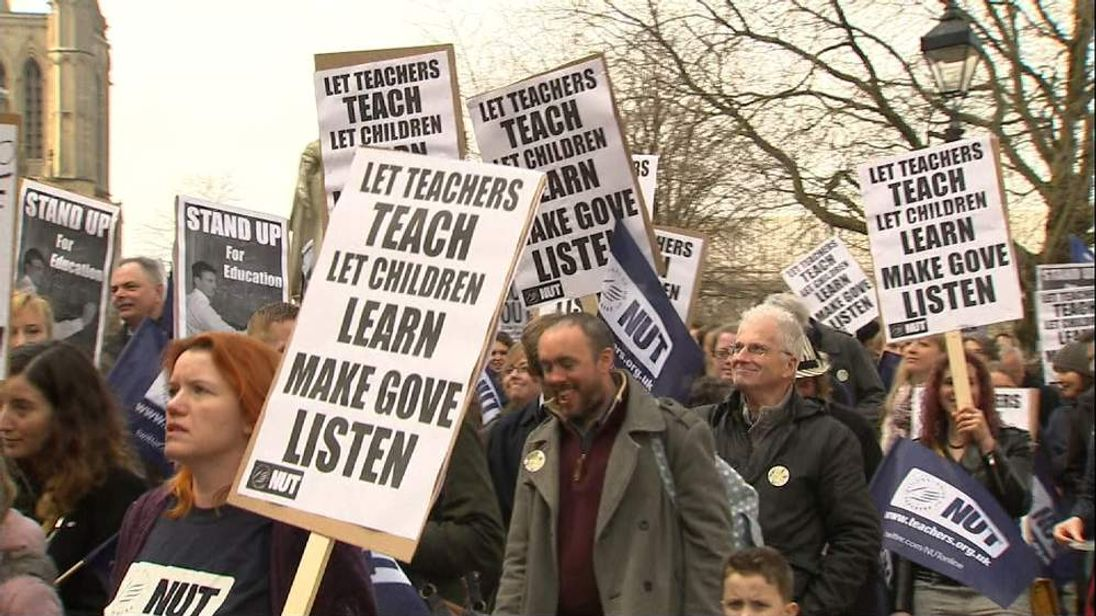 TEACHERS STRIKE