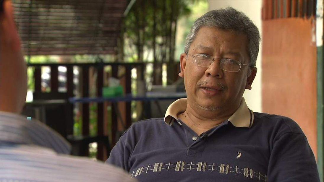 Nasir Othman, Friend of Malaysie Airlines MH370 pilot