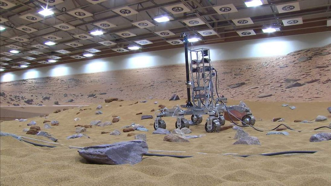 British scientists hope their rover designed for Mars will make it to the red planet.