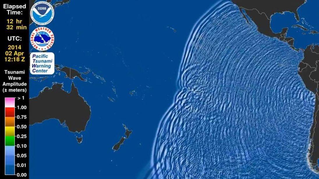 Tsunami animation