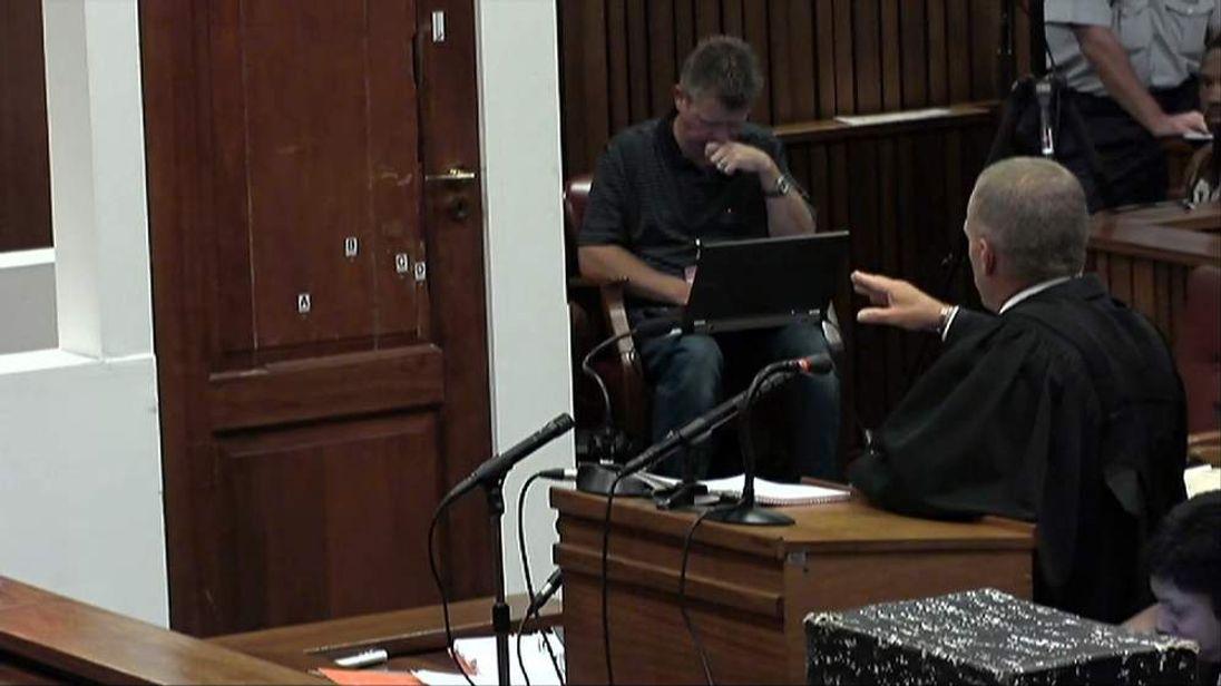 Pistorius courtroom