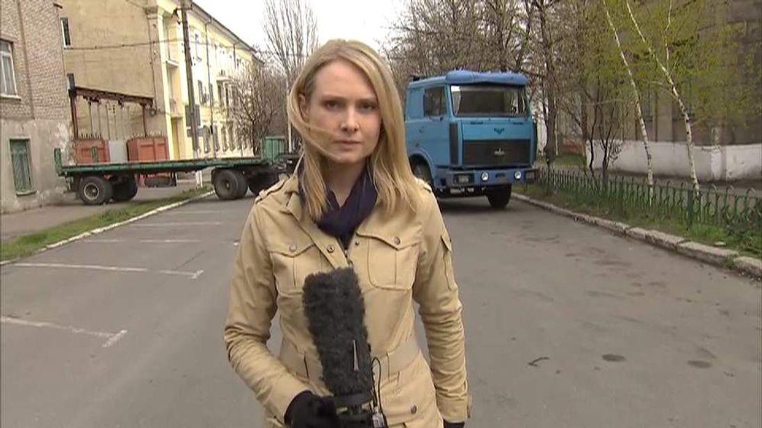 Katie Stallard in Mariupol, Ukraine