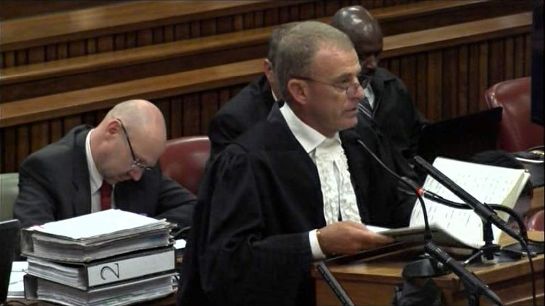 Gerrie Nel ends his cross-examination of Oscar Pistorius