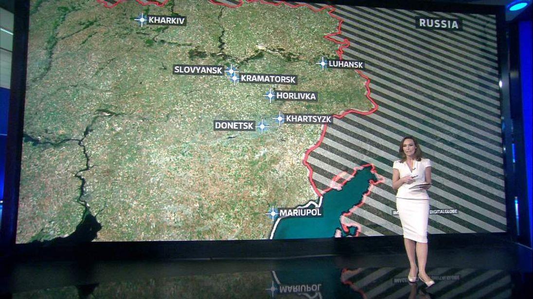 Ukraine flashpoints