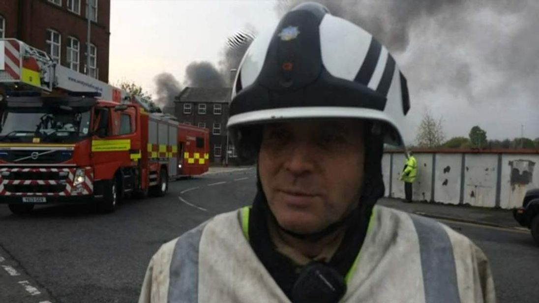 Ian Dunkley, West Yorkshire Fire Service