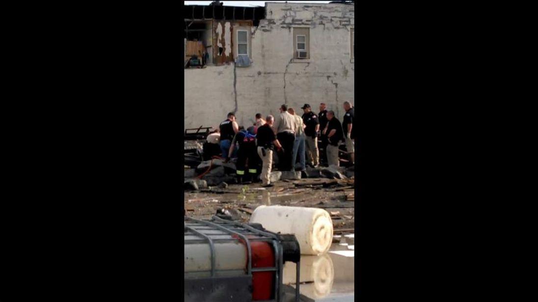 Tornado aftermath: Quapaw, Oklahoma