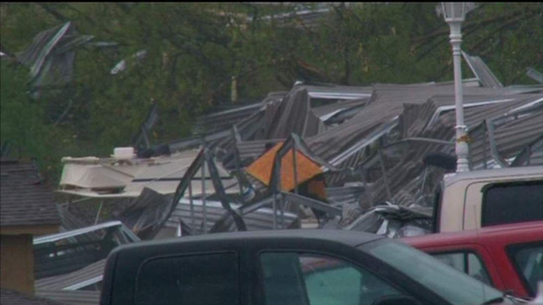Tornado aftermath, Limestone County Alabama