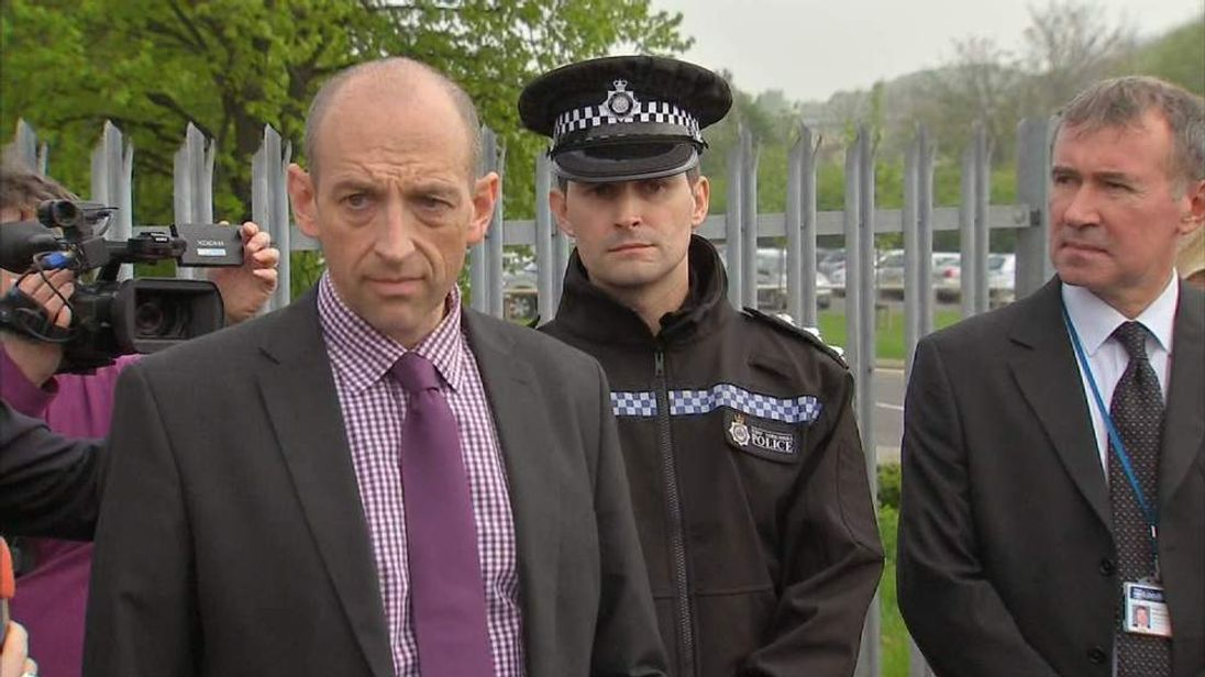 Det Supt Simon Beldon and Chief Inspector Nic Adams of West Yorkshire Police
