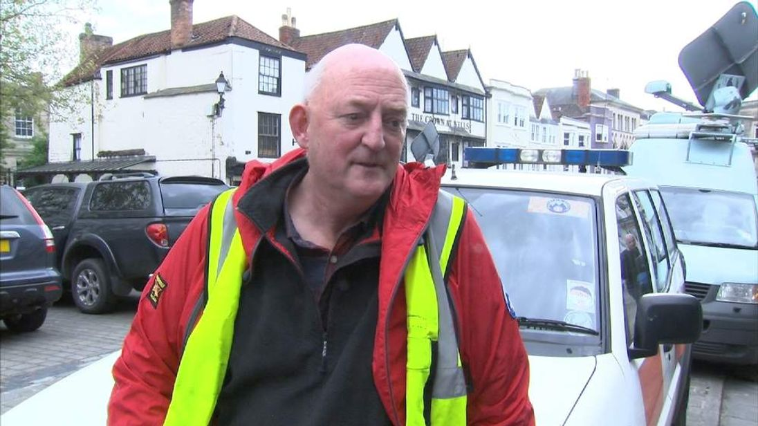 Avon and Somerset Search and Rescue Duncan Massey