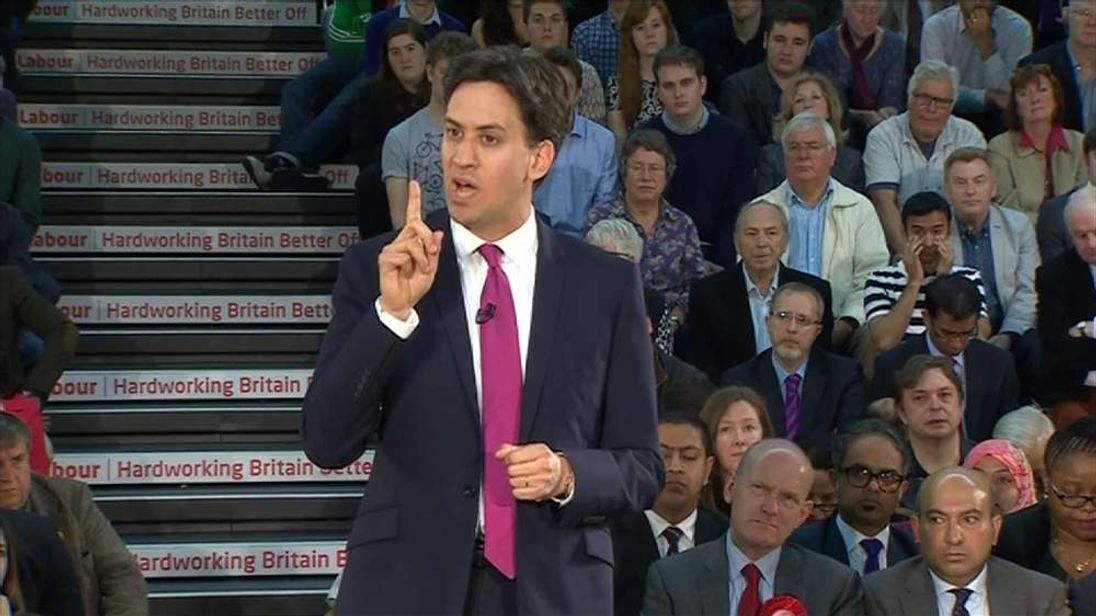 Labour Leader Ed Miliband announces plans to challenge landlords