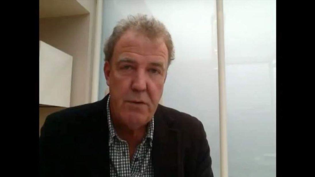 Jeremy Clarkson video post
