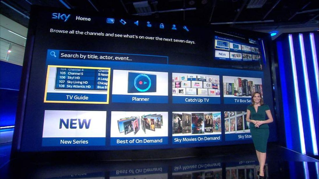 Sky News now available on Catch Up TV