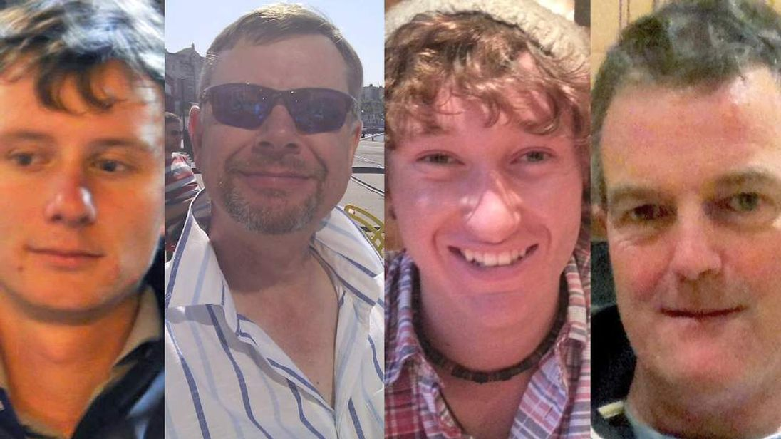 (L-R) Andrew Bridge, Steve Warren, James Male, Paul Goslin