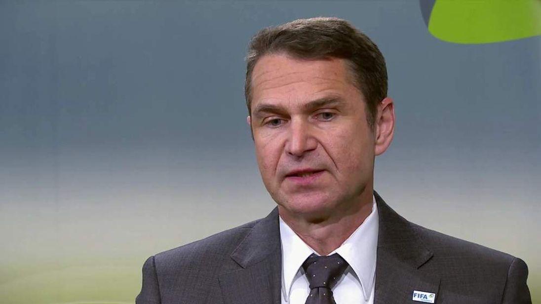 Ralf Mutschke, head of security at FIFA