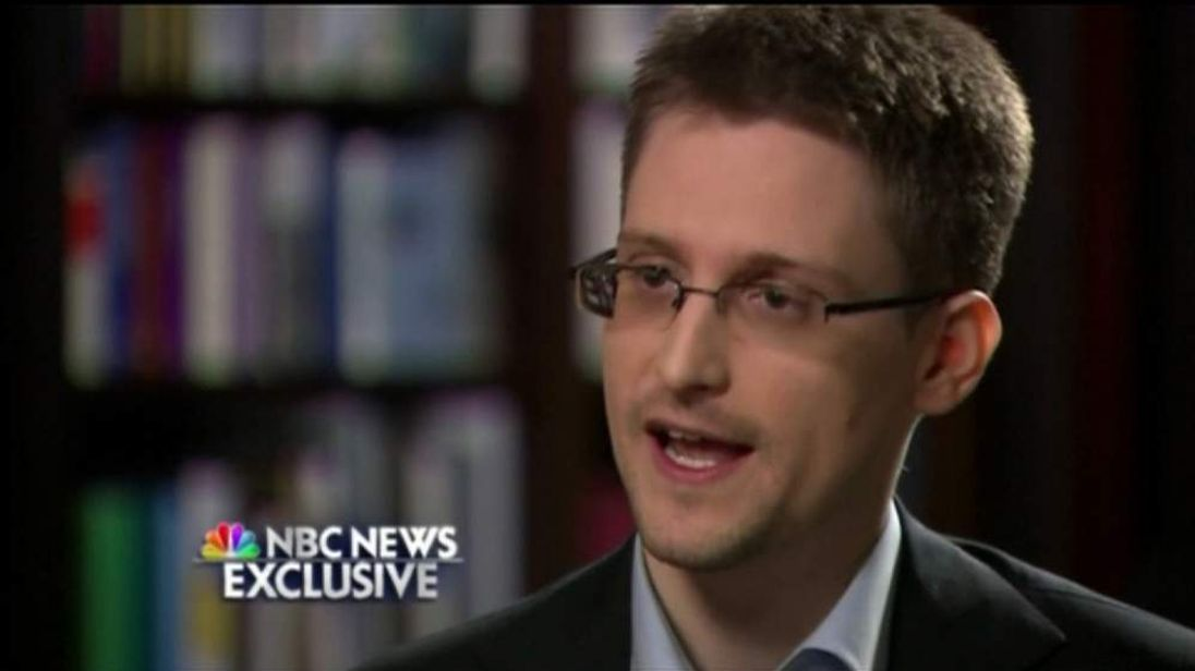 NBC Edward Snowden Interview Screengrab