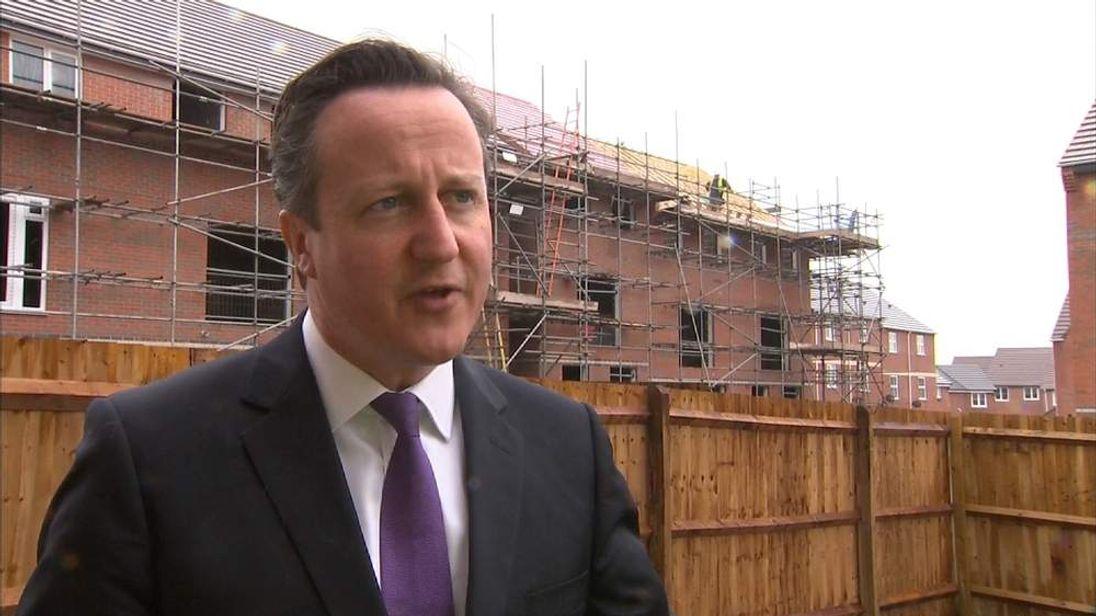 David Cameron speaks on success of Help To Buy scheme