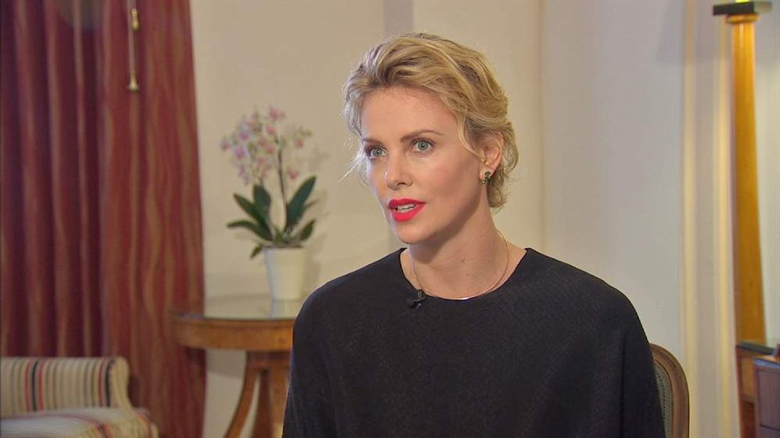 Charlize Theron talks to Sky News