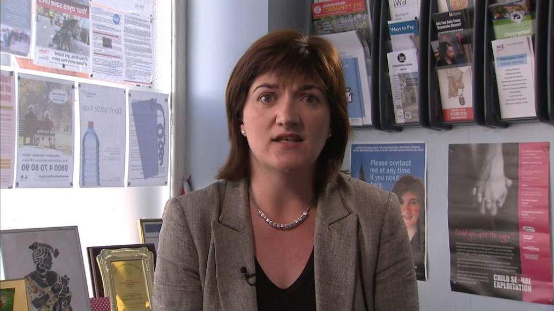 Nicky Morgan MP.