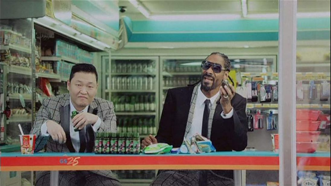 Psy and Snopp Dogg