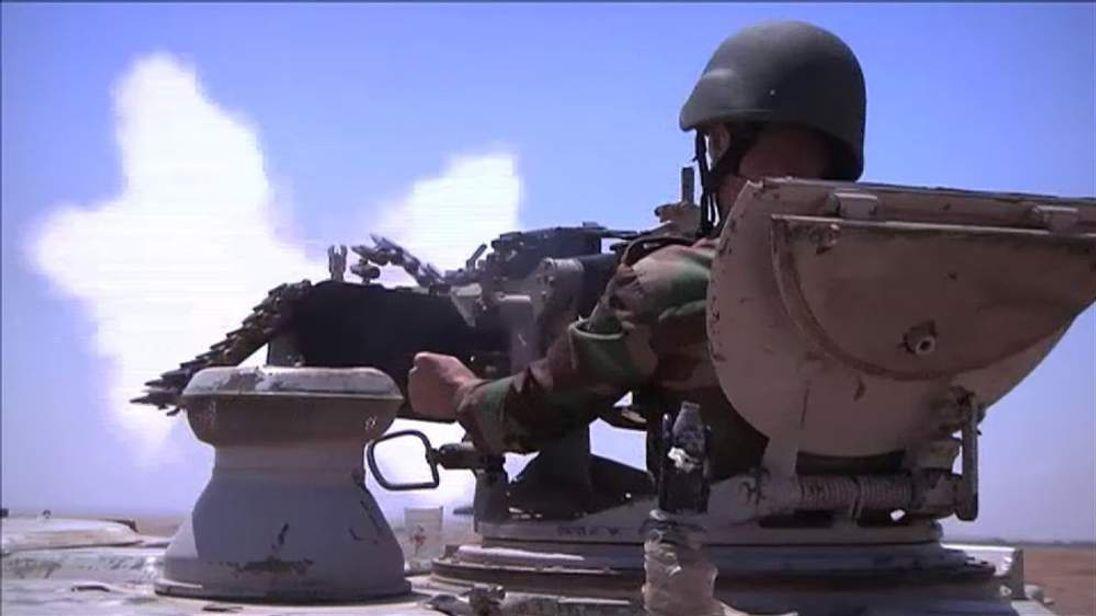 Kurdish Peshmerga fighter in Iraq