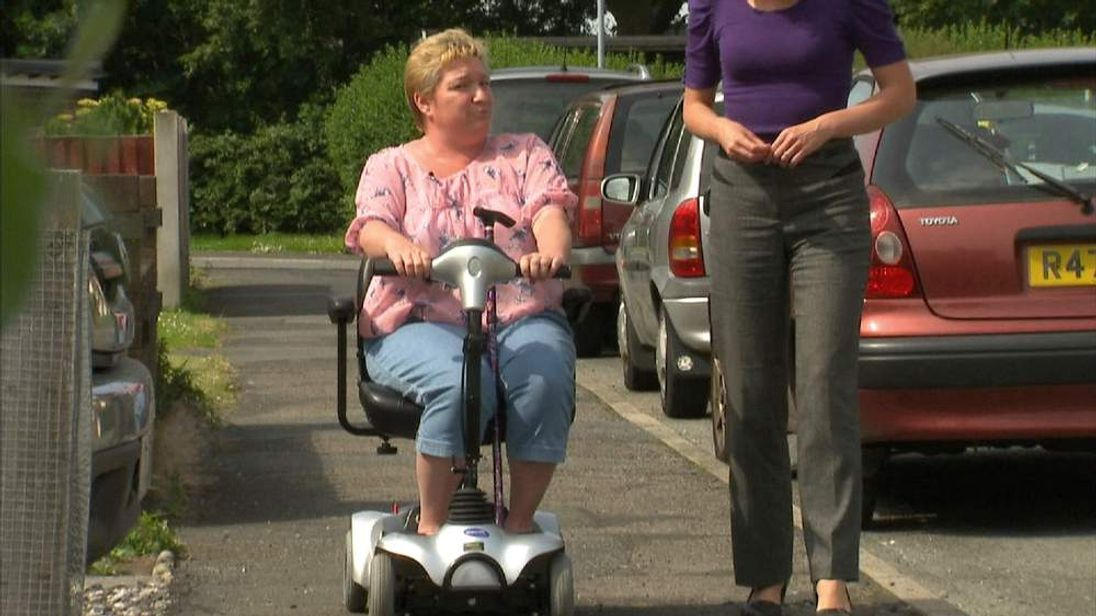 Stephanie Kendrick struggles to walk and applied for Personal Independence Payment in 2013