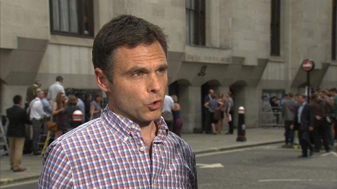 Sky News Producer Jim Old