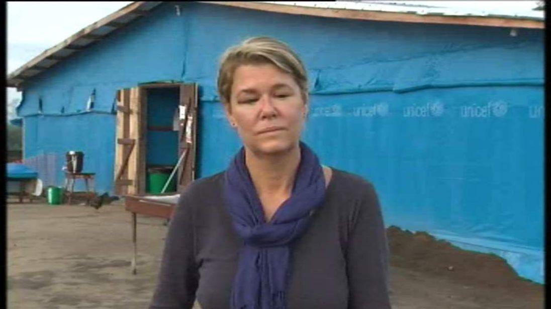 Alex Crawford in Foya, Liberia