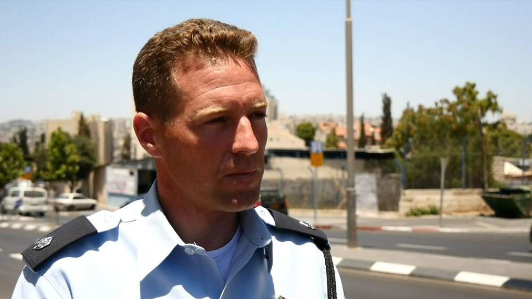 Chief Inspector Micky Rosenfeld is the foreign press spokesman for the Israel Police