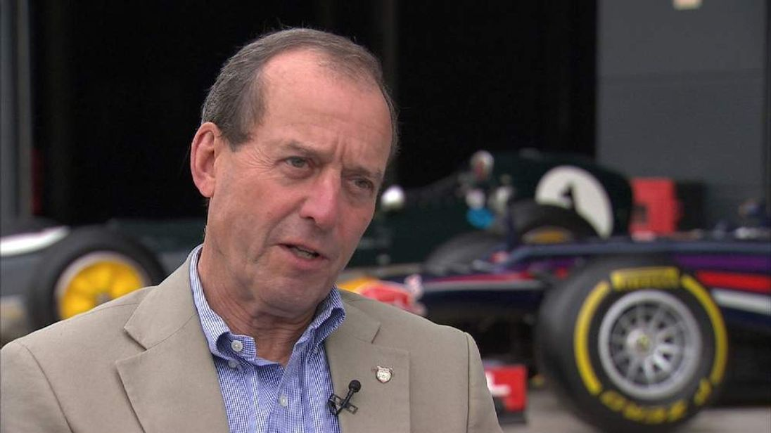 Former F1 driver and team owner Jackie Oliver