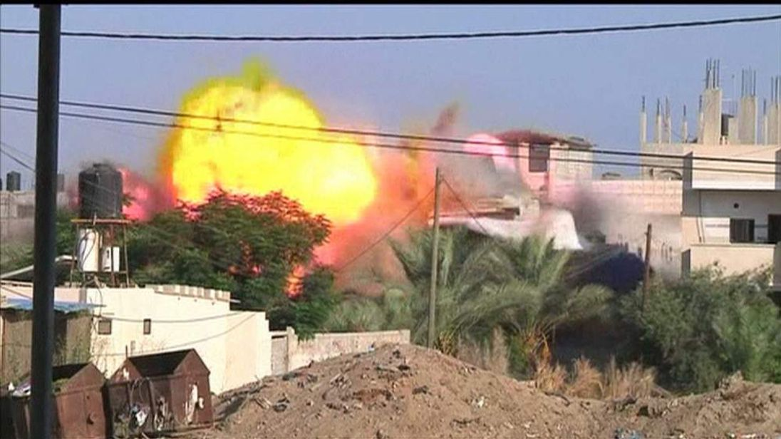 Explosion at house in Khan Younis after Israeli air strike