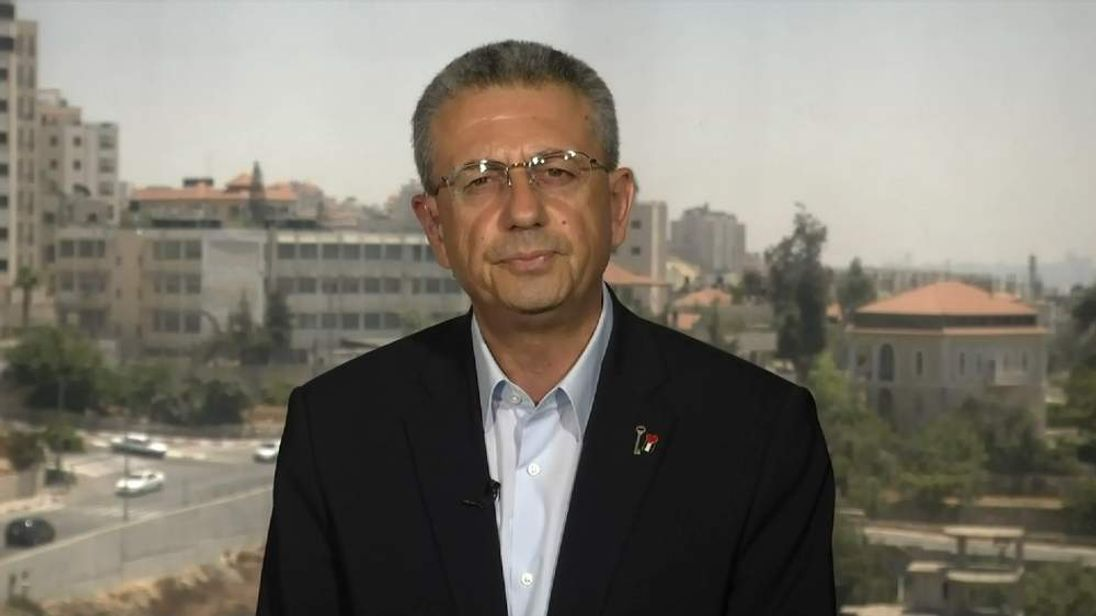 Dr Mustafa Barghouti, Secretary General, Palestinian National Initiative